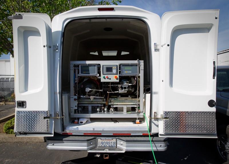 Мобильная установка для измерений электрооборудования